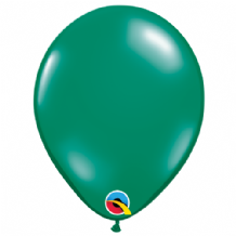 "Emerald Green 5 inch Balloons - Qualatex 5"" Balloons 100pcs"